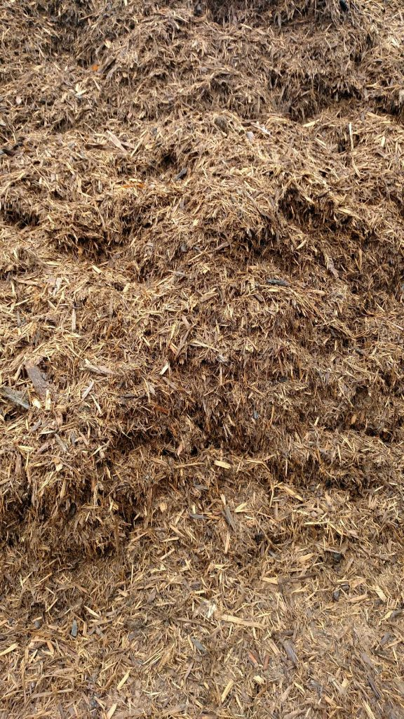General Purpose Hardwood Mulch available in-store and online for pickup or delivery at Asheville Mulch in North Carolina
