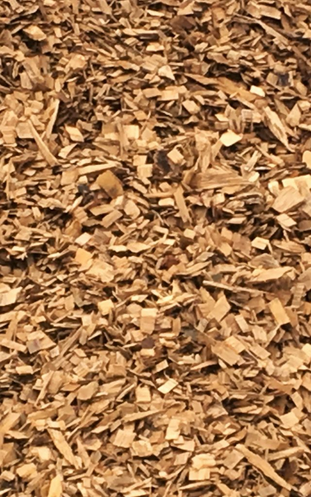 Hardwood Chips Mulch available in-store and online for pickup or delivery at Asheville Mulch in North Carolina