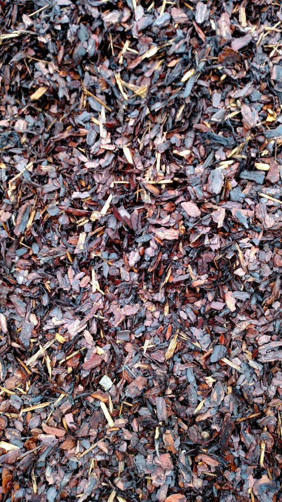 Mini Pine Bark Nuggets Mulch available in-store and online for pickup or delivery at Asheville Mulch in North Carolina