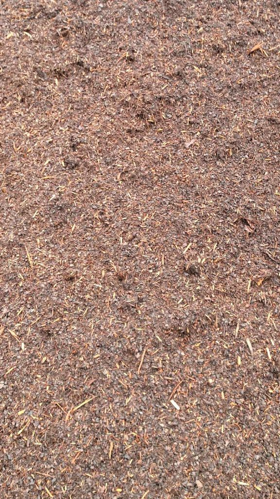Pine Fines Mulch available in-store and online for pickup or delivery at Asheville Mulch in North Carolina