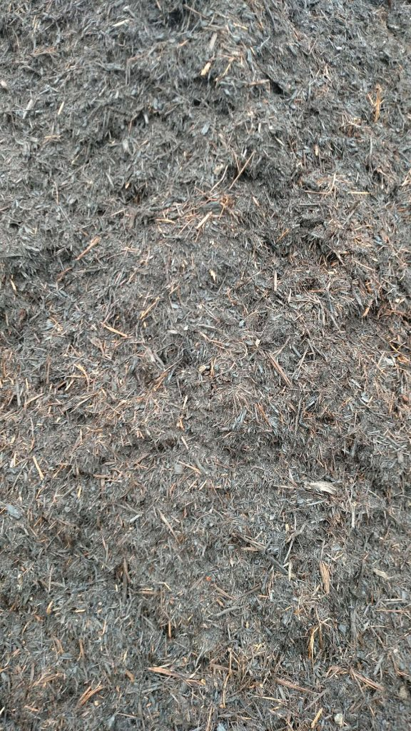 Premium Red Oak Mulch available in-store and online for pickup or delivery at Asheville Mulch in North Carolina